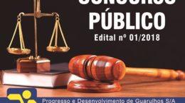 Concurso Público PROGUARU / Imagem: divulgação