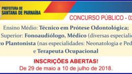 Concurso Público Santana de Parnaíba / Realização: Instituto Mais / Imagem: Divulgação