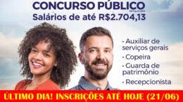 Concurso Público da Câmara de Santana de Parnaíba / Realização: Instituto Mais / Imagem: Divulgação