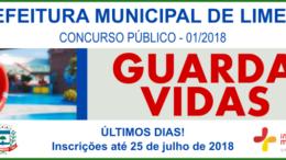 Concurso Público da Prefeitura de Limeira / Realização: Instituto Mais / Imagem: Divulgação