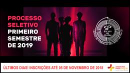 Processo Seletivo 1º Semestre de 2019 da SP Escola de Teatro / Realização: Instituto Mais / Imagem: Divulgação