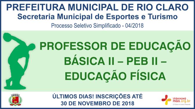 Processo Seletivo Simplificado 04 2018 da Secretaria Municipal de Esportes  e Turismo de Rio Claro 4a474f01992eb