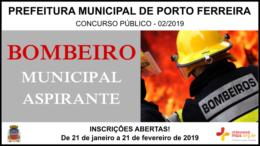 Concurso Público 02/2019 da Prefeitura de Porto Ferreira / Realização: Instituto Mais / Imagem: Divulgação