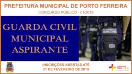 Concurso Público 01/2019 da Prefeitura de Porto Ferreira / Realização: Instituto Mais / Imagem: Divulgação