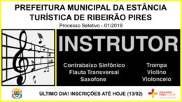 Processo Seletivo 01/2019 da Prefeitura de Ribeirão Pires / Realização: Instituto Mais / Imagem: Divulgação