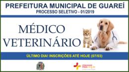 Processo Seletivo 01/2019 da Prefeitura de Guareí / Realização: Instituto Mais / Imagem: Divulgação