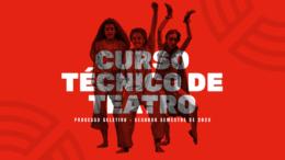 Processo Seletivo 2º Semestre de 2020 da SP Escola de Teatro / Realização: Instituto Mais / Imagem: Divulgação