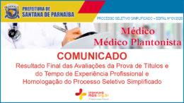 Processo Seletivo Simplificado 01/2020 da Prefeitura de Santana de Parnaíba / Realização: Instituto Mais / Imagem: Divulgação