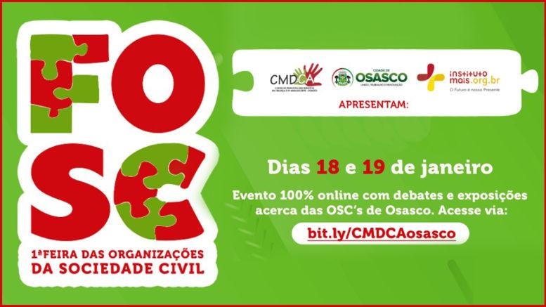 1ª Feira das Organizações da Sociedade Civil no Município de Osasco / Imagem: Divulgação