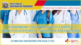 Processo Seletivo Simplificado 02/2021 da Prefeitura de Santana de Parnaíba / Realização: Instituto Mais / Imagem: Divulgação