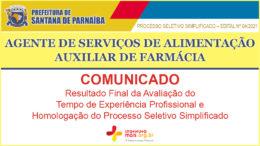 Processo Seletivo Simplificado 04/2021 da Prefeitura de Santana de Parnaíba / Realização: Instituto Mais / Imagem: Divulgação