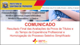 Processo Seletivo Simplificado 08/2021 da Prefeitura de Santana de Parnaíba / Realização: Instituto Mais / Imagem: Divulgação