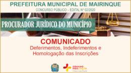 Concurso Público 02/2020 da Prefeitura de Mairinque / Realização: Instituto Mais / Imagem: Divulgação