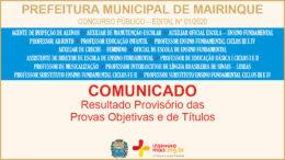 Concurso Público 01/2020 da Prefeitura de Mairinque / Realização: Instituto Mais / Imagem: Divulgação